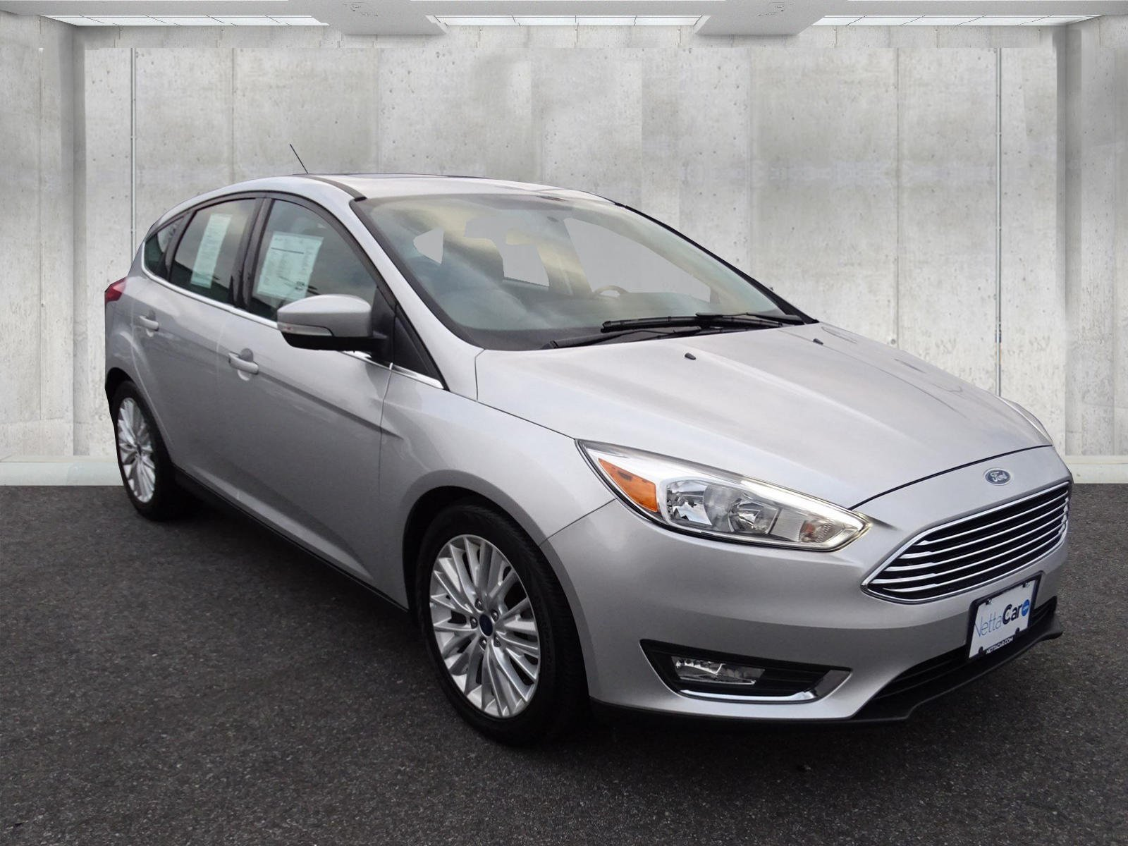 Certified Pre-Owned 2017 Ford Focus CERTIFIED TITANIUM--NAVIGATION