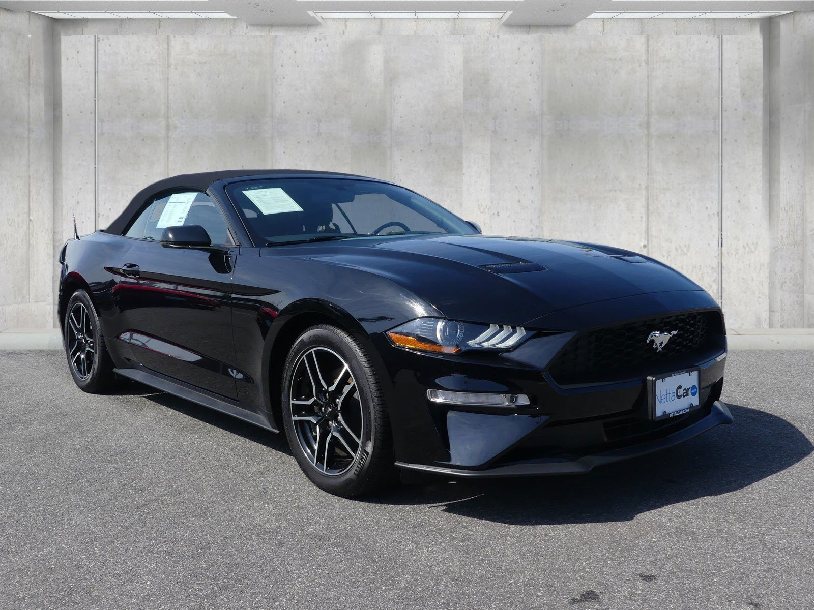 Certified pre owned 2018 ford mustang ecoboost premium