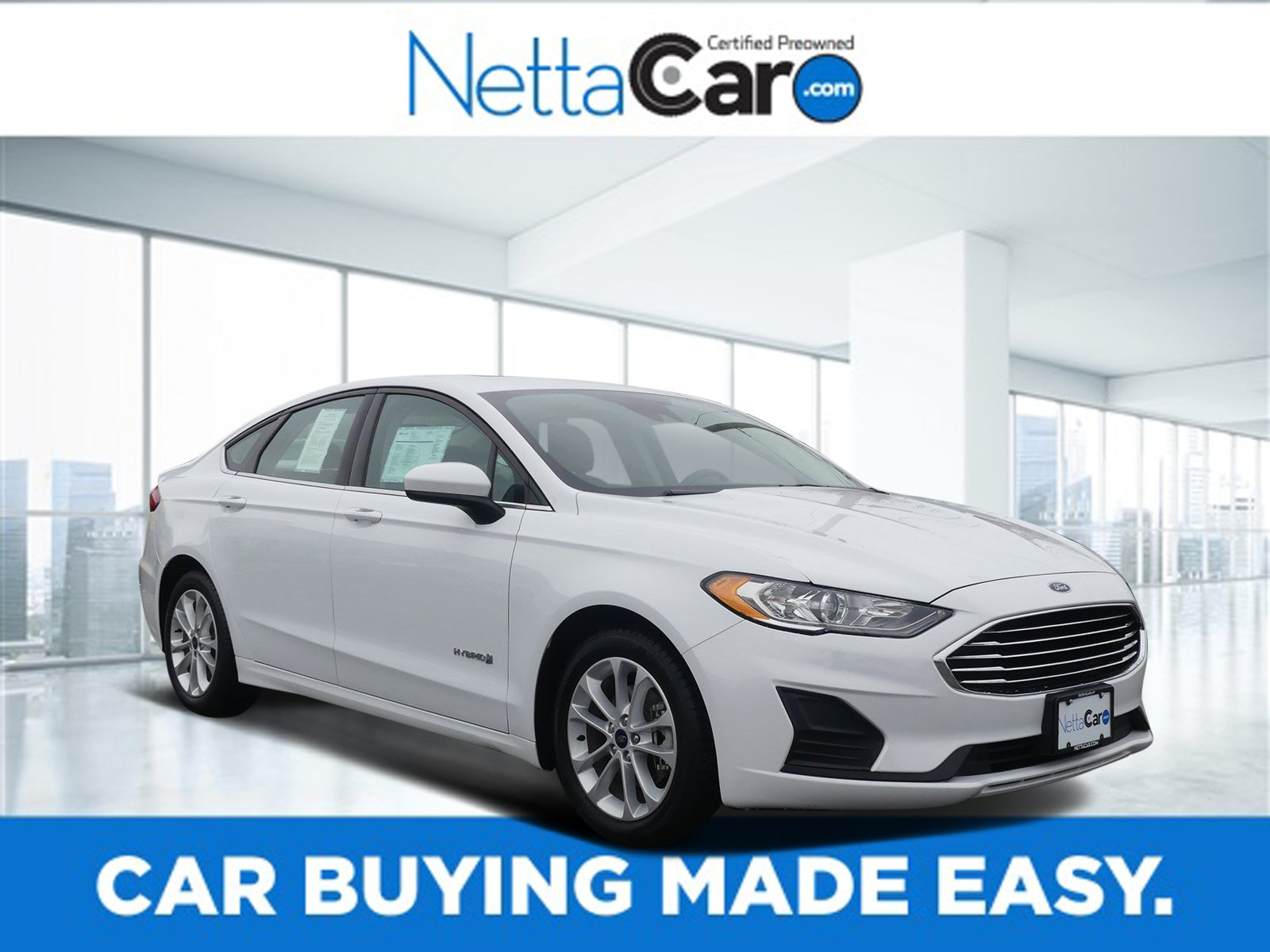 Certified Pre-Owned 2019 Ford Fusion Hybrid CERTIFIED SE--MOONROOF--6,800 MILES