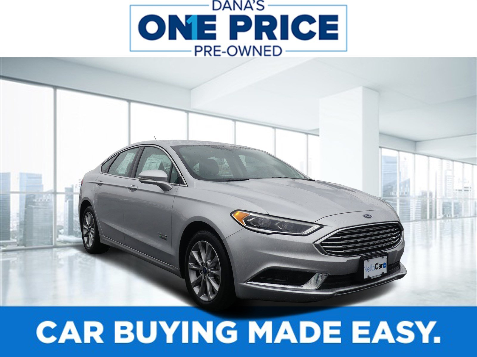 Certified Pre-Owned 2018 Ford Fusion Energi SE