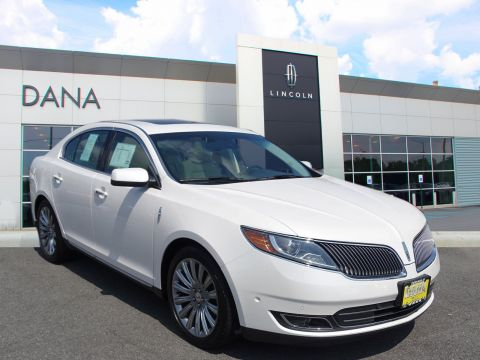 Certified Pre-Owned 2015 LINCOLN MKS CERTIFIED--ELITE/TECH PKG--18,000 MILES