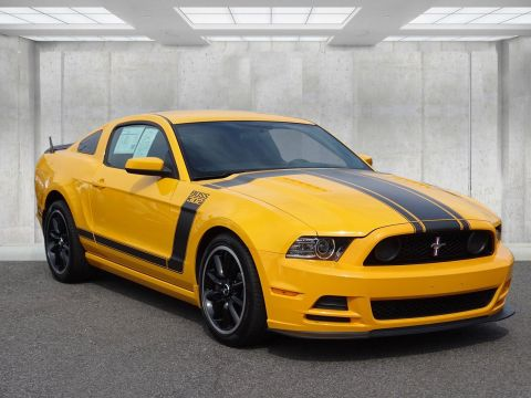 Certified Pre-Owned 2013 Ford Mustang CERTIFIED BOSS 302--8,600 MILES
