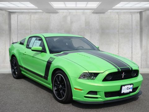 Certified Pre-Owned 2013 Ford Mustang CERTIFIED BOSS 302--12,000 MILE