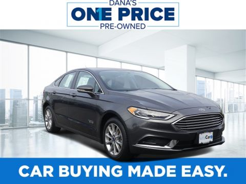 Certified Pre-Owned 2018 Ford Fusion Energi CERTIFIED SE LUXURY--MOONROOF