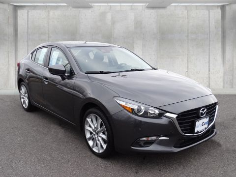 Pre-Owned 2017 Mazda3 GRAND TOURING--MOON--NAV--LIKE NEW